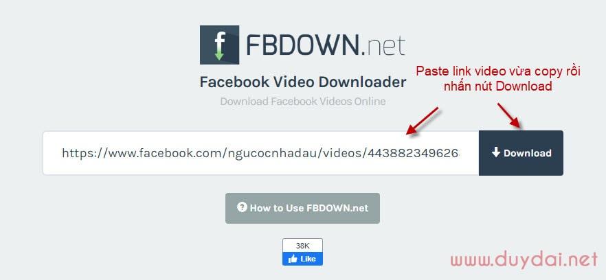 3 cách download video từ Facebook cho người không chuyên