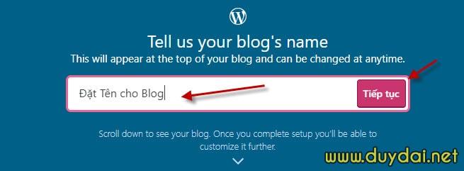 Hướng dẫn tạo blog wordpress cho người mới bắt đầu