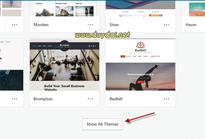 Hướng dẫn thay đổi giao diện blog wordpress