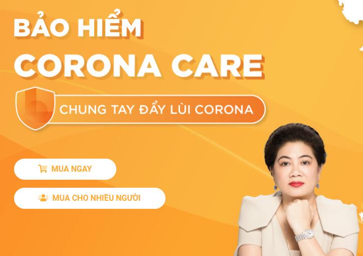 Hướng dẫn đăng ký gói bảo hiểu Corona Care